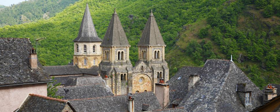 Village de Conques, Aveyron © M. Schulte Kellinghaus