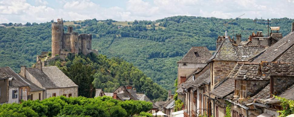 Najac, un des 10 plus beaux villages de France en Aveyron
