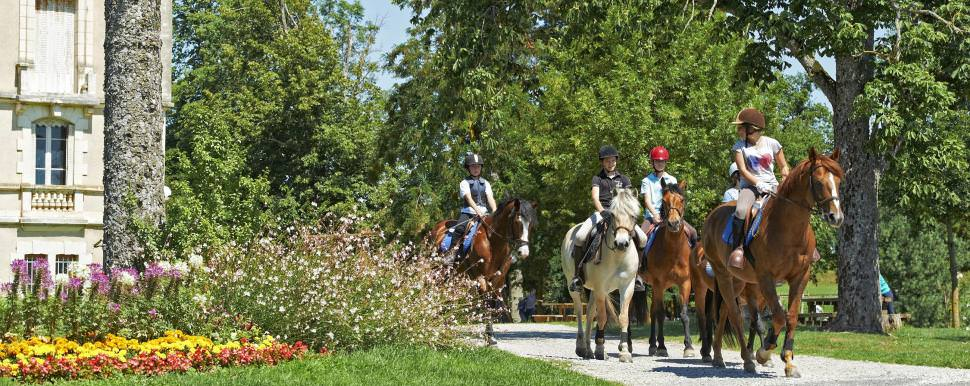 Horse riding, Aveyron © D. Viet - Tourisme Occitanie