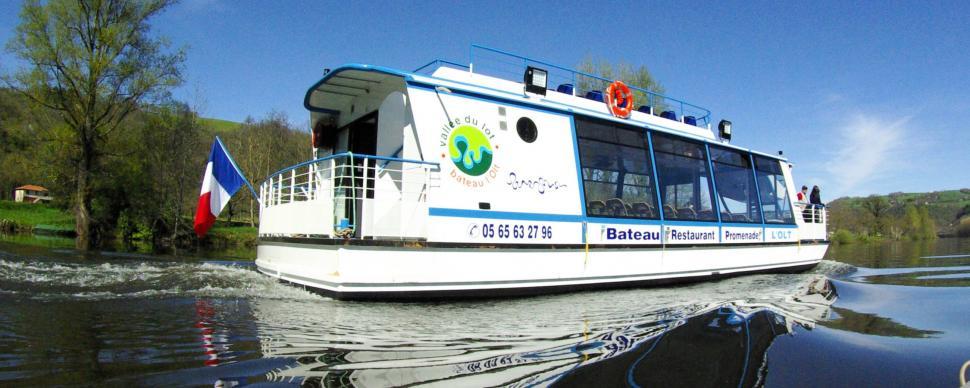 promenade bateau millau