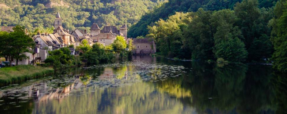 Entraygues-sur-Truyère, Aveyron © M. Hennessy - Tourisme Aveyron