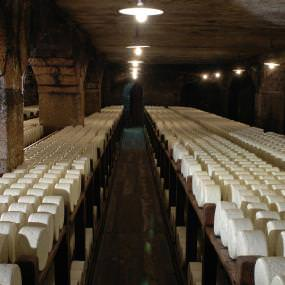 Roquefort and its cellars