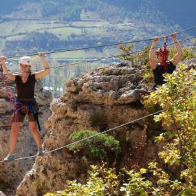 Via ferrata Aveyron