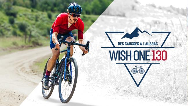 Wish One 130 - course de vélo Gravel - des Causses à l'Aubrac