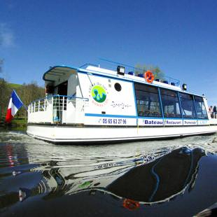 by train, by boat in Aveyron